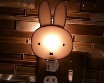 Miffy the Bunny with light base