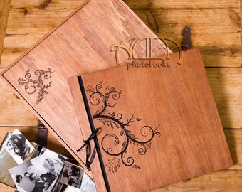 Beautiful handcrafted, traditional photobook