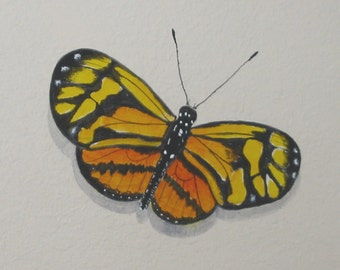 BUTTERFLY PRINT,  From My Original BUTTERFLY Painting, Insects