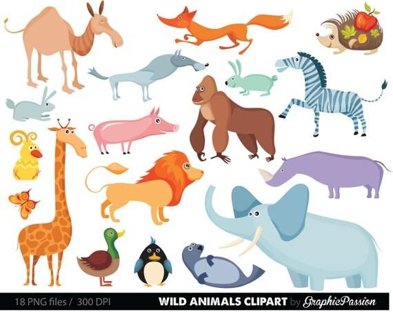 dschungel tiere baby digitale clipart   safari tiere clipart zoo animal clip art images zoo animals clip art pictures free