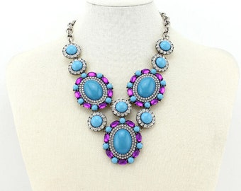 The New Luxury Bubble Statement Necklace for women