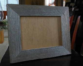 5x7 Reclaimed Wood Hanging or Self Standing Picture Frame