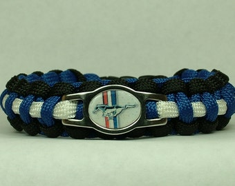 Ford Mustang Paracord Bracelet