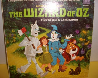 Vintage The WIZARD of OZ Album and full illustrated story!