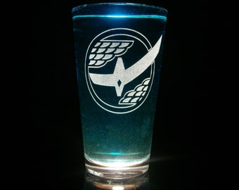 Kamen Rider Gaim Pint Glass