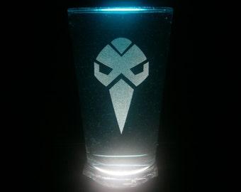 Divebomb Predacon Transformers Pint Glass