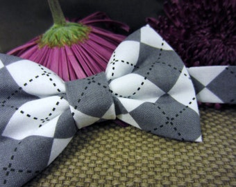 Awesome Argyle Bow Tie - Adjustable Bowtie