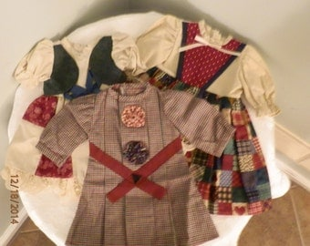 Handmade Doll Dressses, Clothes for Dolls 18 inch, made for American Girl Dolls, very well sewn dresses