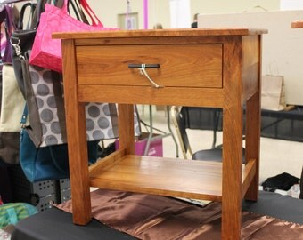 CUSTOM FURNITURE | Hardwood Furniture   Hall Table / Bed Side Table / End  Table |