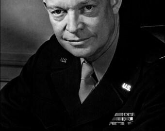 24x36 Poster; General Dwight D. Eisenhower