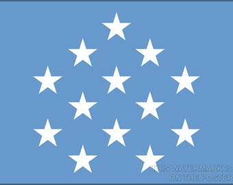 24x36 Poster; Medal Of Honor Flag