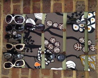 Sunglasses display storage