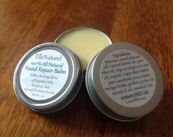 All Natural Hand Repair Balm - Hand Butter - Hand Cream