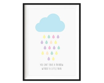 You can't have a rainbow colourful print