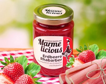 Strawberry rhubarb jam jam