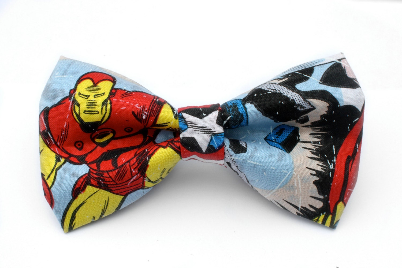 iron man bow tie. Black Bedroom Furniture Sets. Home Design Ideas