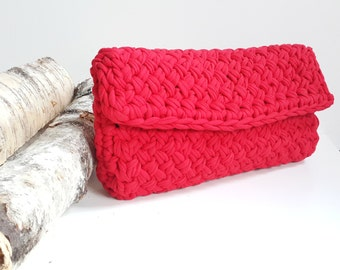 Clutch, Knitted clutch, bag, knitted bag, purse, knitted purse, summer bag, stylish clutch