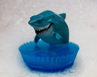 Shark Toy Soap, Kids Toy Soap, Toy in Soap, Bruce, Children's Soap, Finding Nemo, Bath