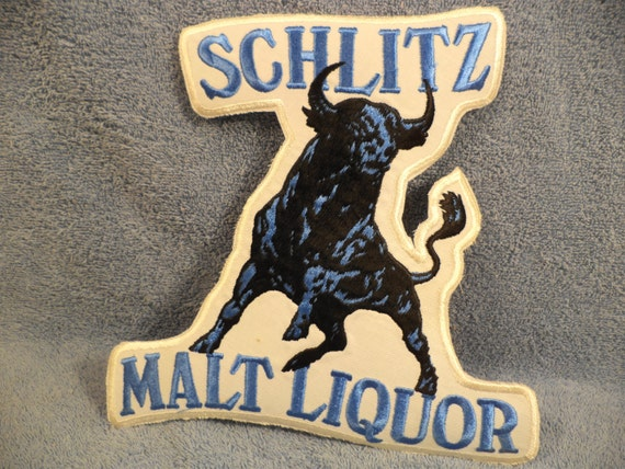 Schlitz Malt Liquor Large Uniform Patch
