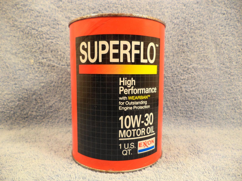 Exxon Superflo High Performance Motor Oil 1 Quart Motor Oil