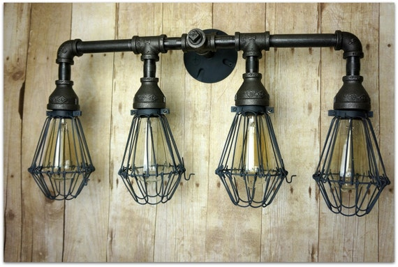 remake vanity edison light vanity lighting cage lighting. Black Bedroom Furniture Sets. Home Design Ideas