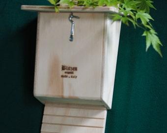 Blitzenpet, 2 Bat Box Against Mosquitos Checkable Made in Italy 100%