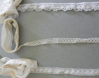 Vintage Insertion Lace and a Lace Trim
