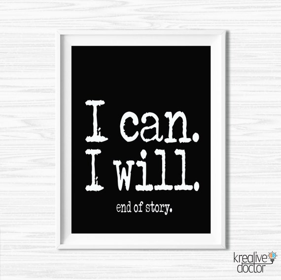 Motivational wall canvas inspiration quote office wall decor for Motivational quotes for office cubicle