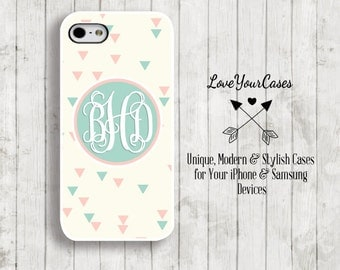iPhone 6s Case, iPhone 6s Plus Case, iPhone 6 Case, iPhone 6 Plus Case, iPhone 5s Case, iPhone 5c Case, Monogrammed Personalized Case 793