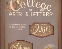 Decorative Tole Painting Patterns - Decorative Painting Patterns - College of Arts & Letters Freshman's Guide to Brush Stroke Lettering