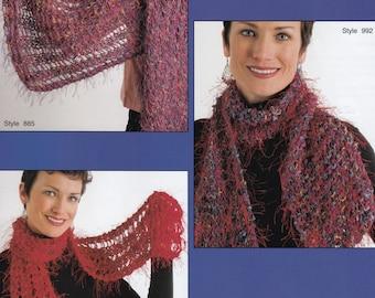 Cardigan Knitting Pattern - Shawl Knitting Pattern - Purse Knitting Pattern - Scarf Knitting Pattern - Hat Knitting Pattern - Mitten Pattern