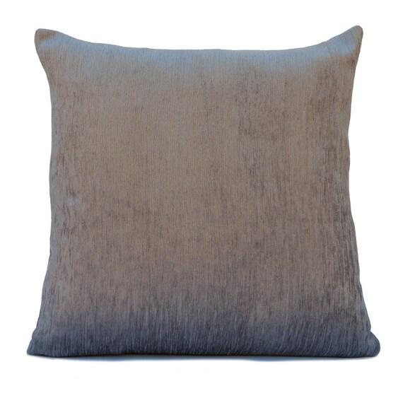 Velour Throw Pillows : Silver Grey Pillow Throw Pillow Cover Decorative Pillow