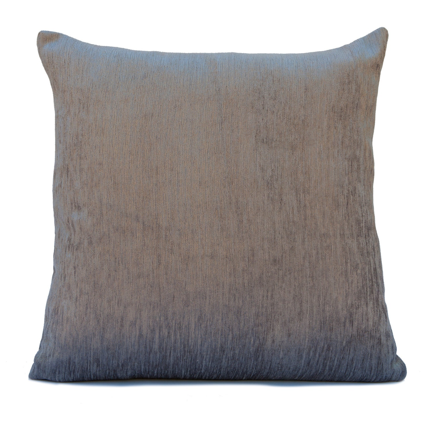 Silver Grey Pillow Throw Pillow Cover Decorative Pillow