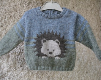 Pull baby from 3 months to 2 years 100% handmade
