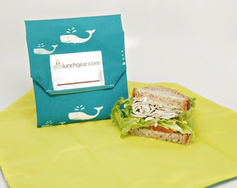 Reusable Sandwich Wrap DIY Kit with Pattern