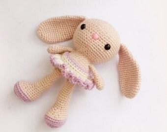 Amigurumi Bunny Pencil Holder : Amigurumi ballerina bunny kalulu for