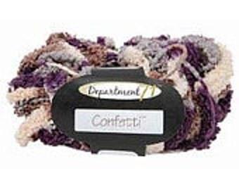 Yarn - Department 71 Confetti - Graphite, Latte, or Saffron