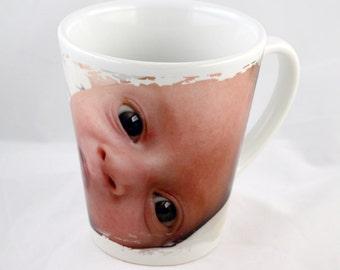 Personalized Custom 10oz. Ceramic Funnel Mug