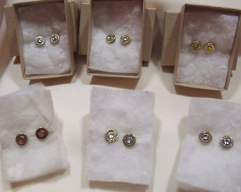 22 Hornet shell earrings