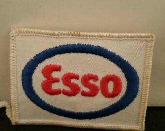 Esso sew on patch