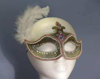 Island Breeze Masquerade Mask