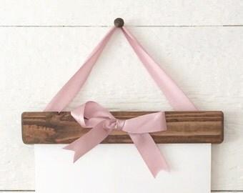 Custom Rustic Frame Print - rustic - rustic decor - home decor - farmhouse - farmhouse decor - reclaimed wood - reclaimed frame - frame