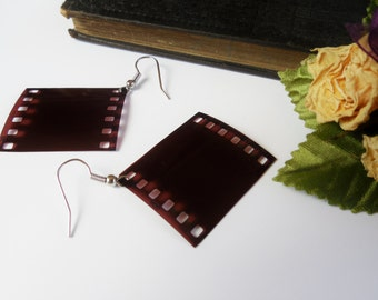 Film Negative Earrings