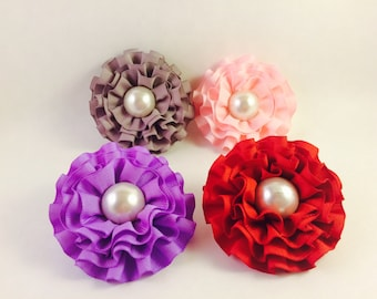 Removeable Flower dog collar accessory