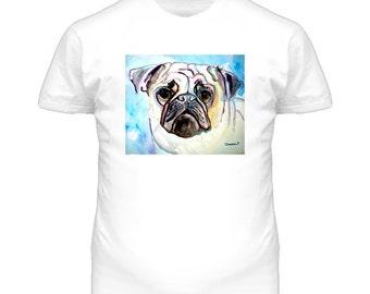 Pug Dog T Shirt