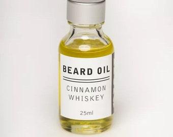 Reid Beard Oil CINNAMON WHISKEY scent- Made in AUSTRALIA- All Natural.