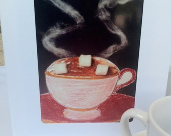 Jolie's Hot Chocolate Greeting Card