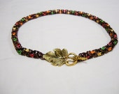Fabulous Fall - chainmaille necklace
