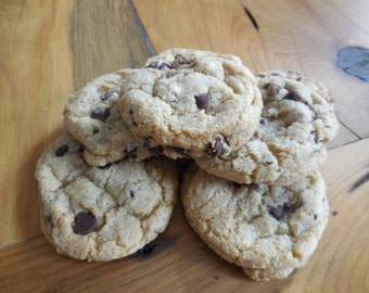 Mini Enormous Chewy Chocolate Chip Cookies- Homemade