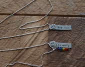 Her One, Her Only Necklace; Lesbian Couple Necklace; Lesbian Jewelry; Gay Pride; LGBT Necklace; Lesbian Wedding